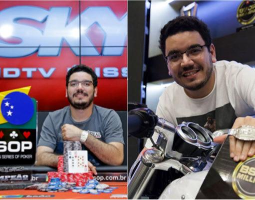 João Bauer campeão brasileiro de poker em 2015