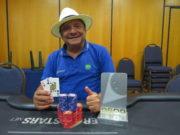 Jorge Pereira campeão do NLH No-Breaks DeepStack do BSOP Natal