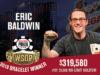 Eric Baldwin campeão do Evento #37 da WSOP