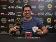 Rafael Teles campeão do Turbo Win The Button do BSOP Millions