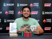Fábio Bezerra - Campeão Last Chance Deepstack Turbo - BSOP Iguazu
