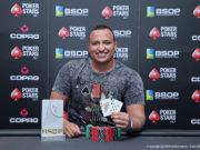 Eddy Ferreira campeão do Last Chance Deepstack Turbo do BSOP Rio Quente