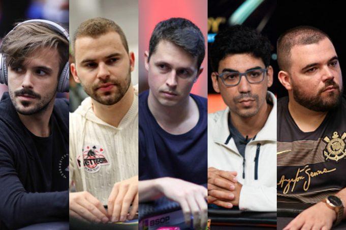 Cinco brasileiros aparecem entre os dez melhores do mês de abril no poker online