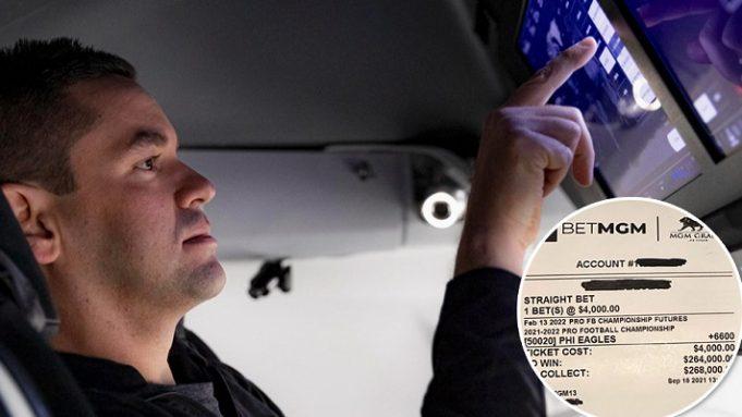 Jared Isaacman apostou US$ 8 mil diretamente de uma nave espacial (Foto: BetMGM)