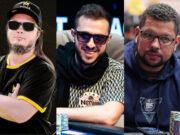 Trio de profissionais representou bem o Brasil no PokerStars