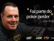 """Luiz Scipião falou sobre """"saber perder"""" no Pokercast 185"""