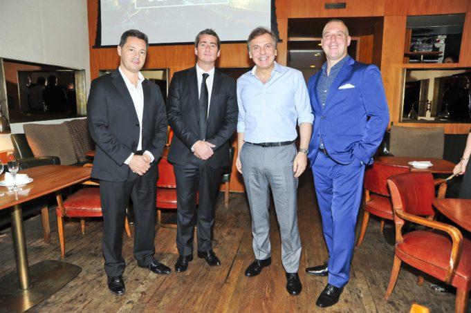 Fabian Giame, Sebastian Trufello, Alberto Sadalla e José Silva Churi do Enjoy Conrad Punta del Este