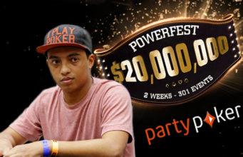 João Fera, campeão na Powerfest