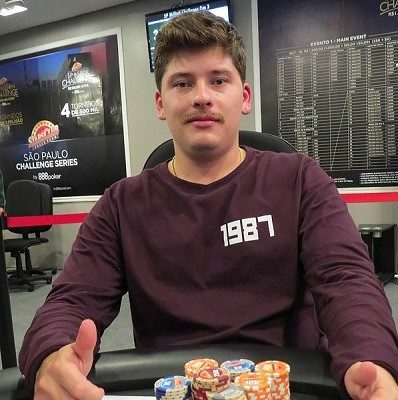 Luiz Tamalu no SP Million Challenge