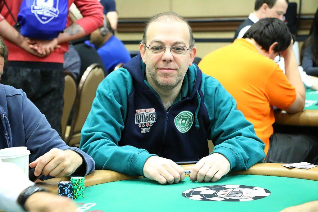 Geraldo Campelo, da Liga Curitibana de Poker