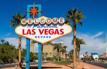 "Placa ""Welcome to Fabulous Las Vegas"""