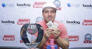 Igor Marani, campeão do High Roller - 3ª etapa CPH 2017