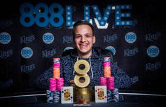 Catalin Pop, campeão do Main Event do 888Live Rozvadov