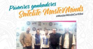 Ganhadores de satélites para o MasterMinds