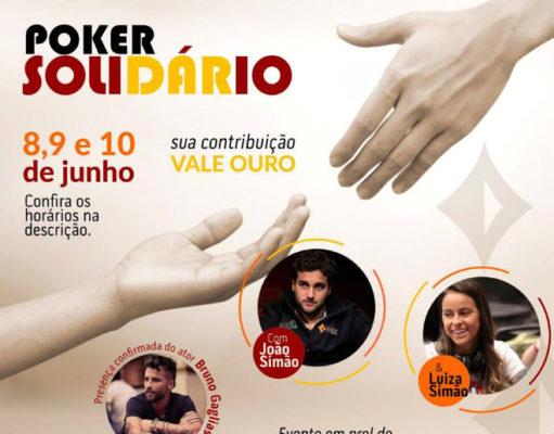Poker Solidário Instituto Love