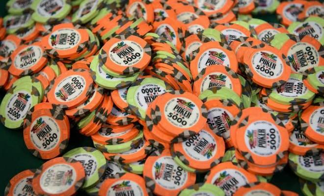 Fichas da WSOP