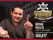 Evento #01 WSOP 2017