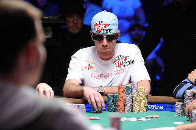 John Racener no Main Event da WSOP 2010