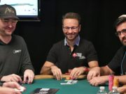 Phil Hellmuth, Daniel Negreanu e André Akkari - WSOP 2017