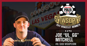 Joe Mitchell - Campeão Evento #8 - WSOP 2017