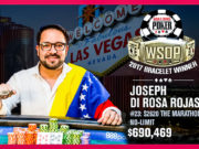 Joseph Di Rosa Rojas - Campeão Evento #23 - WSOP 2017