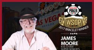 James Moore - Campeão Evento #35 - WSOP 2017