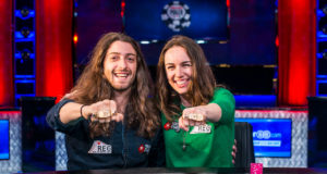 Igor Kurganov e Liv Boeree, campeões do Evento #2 (Tag Team Championship) - WSOP 2017