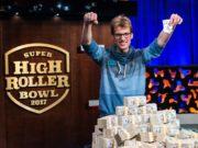 Christoph Vogelsang, campeão do Super High Roller Bowl
