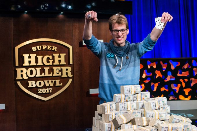 Christoph Vogelsang, campeão do Super High Roller Bowl