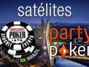 WSOP Brasil satélites partypoker