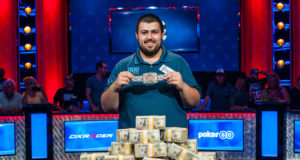 Scott Blumstein - Campeão Main Event - World Series of Poker