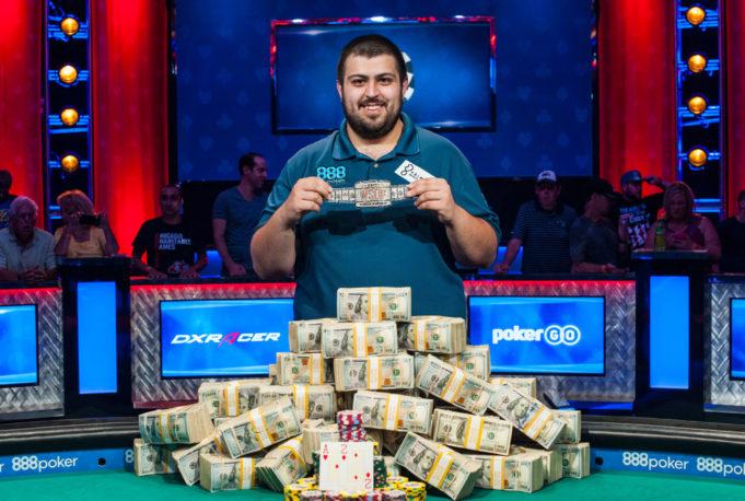 Scott Blumstein - Campeão Main Event - World Series of Poker