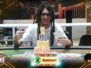 Gustavo Louro - campeão Road to Vegas