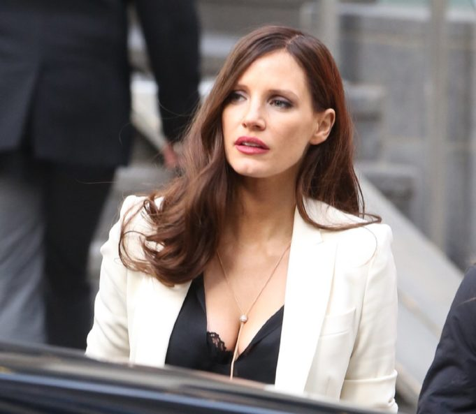 Jessica Chastain em Molly's Game