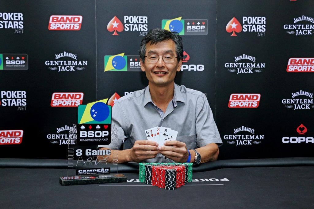 Ricardo Nakamura - Campeão 8 Game - BSOP SP 1