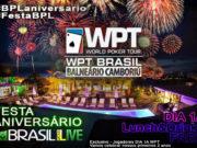 Festa do Brasil Poker Live no WPT Brasil