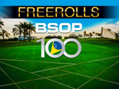 Freerolls BSOP100 Foz do Iguaçu