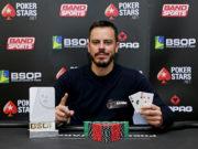 Paulo Gini - Campeão No-Breaks Deepstack BSOP SP