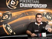 Alexandre Almeida campeão Evento 29 PokerStars Championship Barcelona