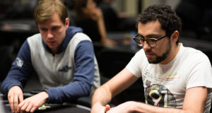 Rafael Moraes no € 10.300 High Roller PokerStars Championship Barcelona