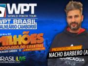 Nacho Barbero confirmado no WPT Brasil