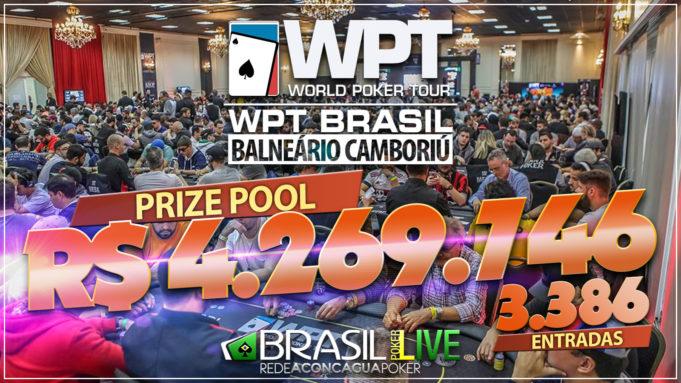 Prize pool do WPT Brasil