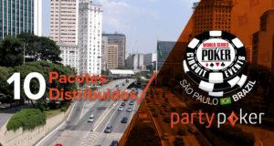 Satélites partypoker para a WSOP Brasil