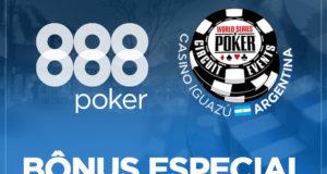 Bônus Especial 888poker no WSOP Circuit Argentina