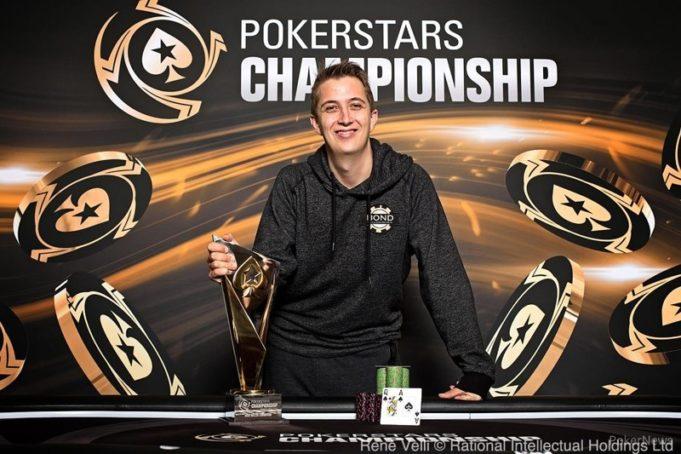 Ronny Kaiser campeão High Roller Poker Stars Championship Barcelona