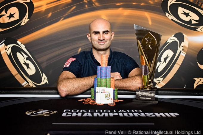 Sylvain Looli campeão do Pot-Limit Omaha High Roller