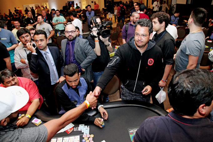 Bolha do Main Event - BSOP100