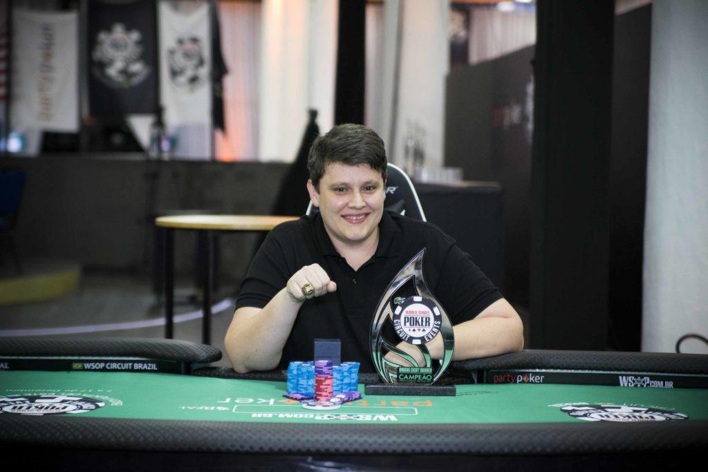 Leandro Prinz - Campeão Pot Limit Omaha WSOP Brazil