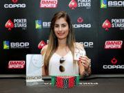 Cristiane Guedes - Campeã Ladies Event - BSOP100