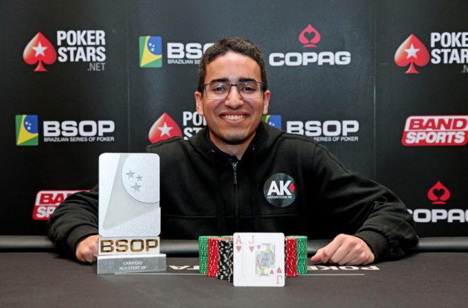 Hugo Marcelo - Campeão Start Up - BSOP100